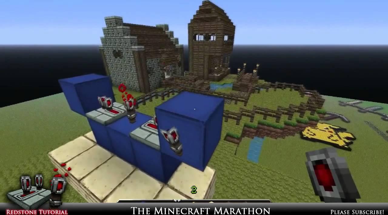 Minecraft - Redstone Tutorial  1