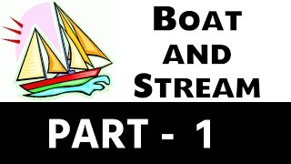 Boat and Stream Part 1 For SSC and BANK PO