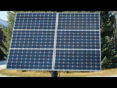 SOLAR PANEL DIY BOOST 30% WHEN USE MPPT SOLAR CHARGE CONTROLLER Pt.#4
