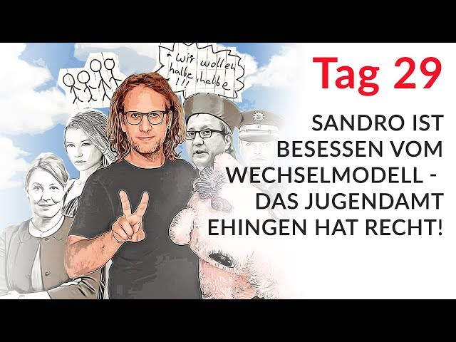 Sandro ist besessen vom Wechselmodell - das Jugendamt Ehingen hat Recht! (Wechselmodell Tag 29)