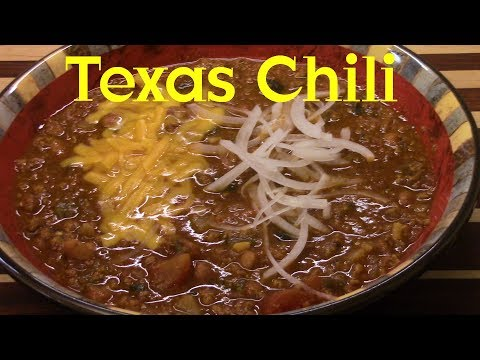Texas Homestyle Chili with Beans Recipe Short Version S2 Ep225