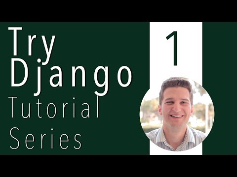 Try Django Tutorial 1 of 21 - New Django Project in Virtualenv download south django registration