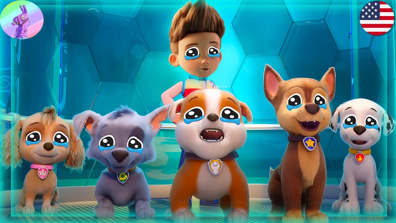PAW Patrol The Movie Trailer +Mighty Pups on A Roll -Pups Robot Rescue Mission #6 -Nick Jr HD