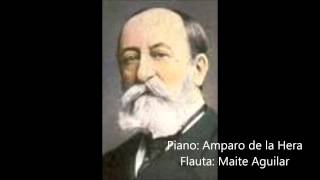 C  Saint Saëns  Romance op  37 for flute and piano