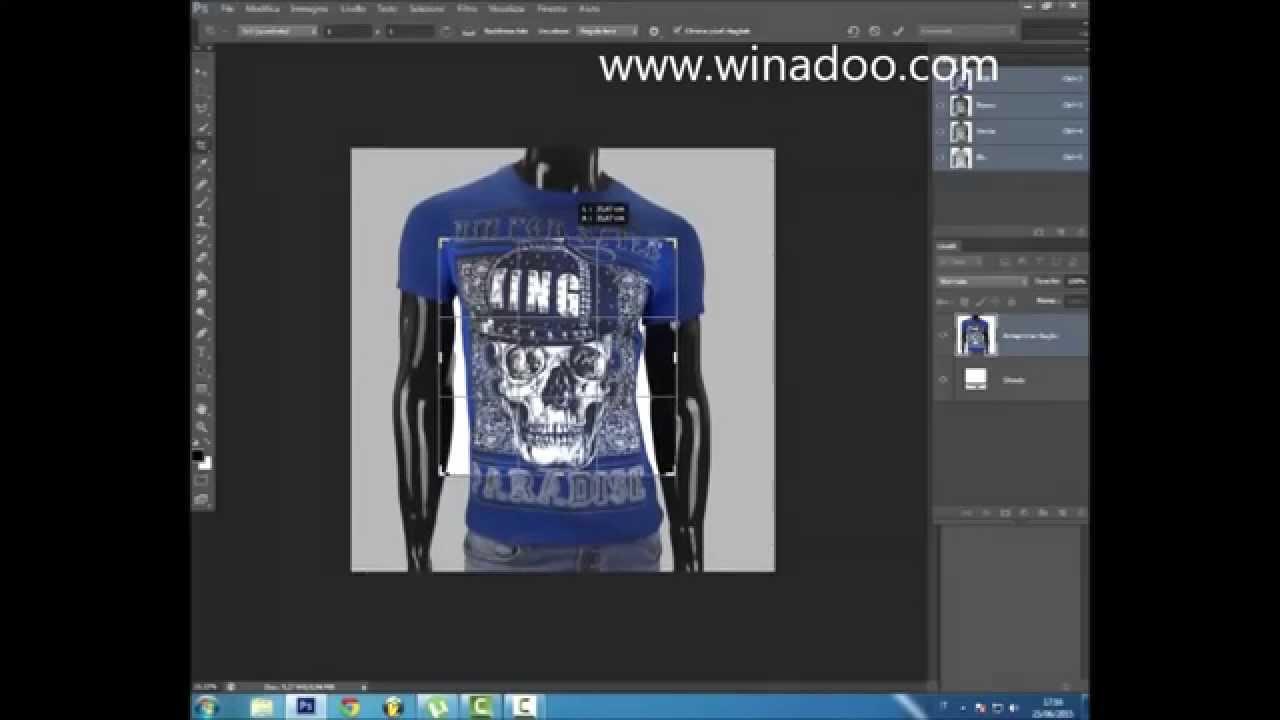 Come Ritagliare Una Foto Con Adobe Photoshop Cs6