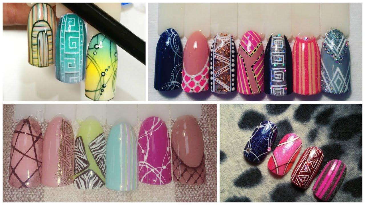 Видео дизайн ногтей от юлии билей