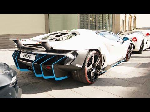 FIRST Lamborghini Centenario In London! I go spotting in the F12