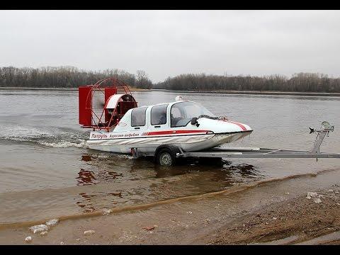 Аэросани Патруль на воде фото