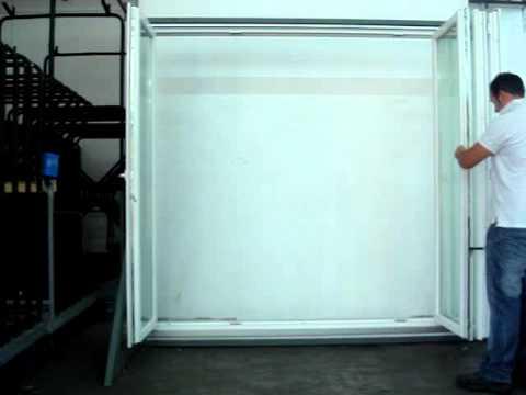 Spi finestre in pvc con apertura a libro youtube - Spi porte e finestre ...