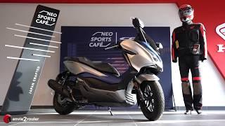 Mise en main Honda FORZA 2019 par envie2rouler