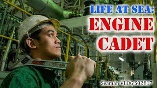 Engine Cadet : Life at Sea | Seaman Vlog