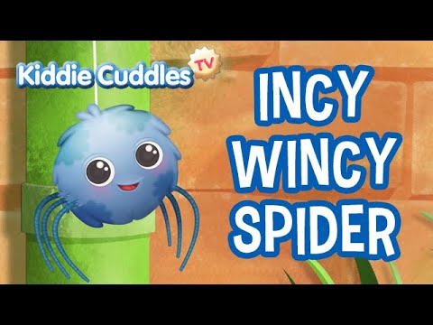 Incy Wincy Spider - Nursery Rhymes – Kiddie Cuddles