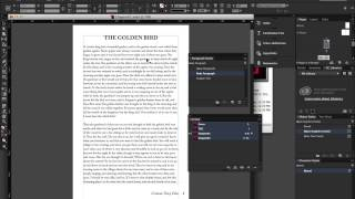Preparing a Book for ePub Export in InDesign