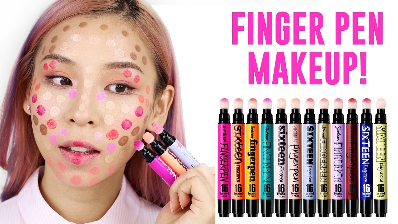 Finger Pen Makeup – Hot or Not? TINA TRIES IT