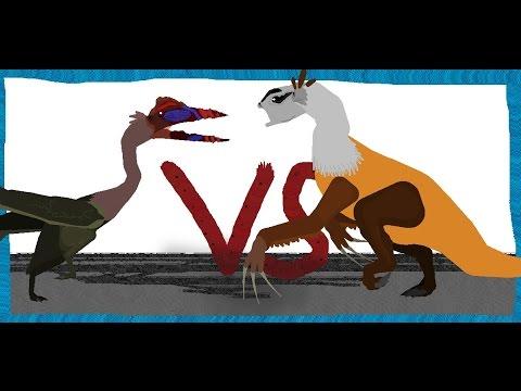 Pivot Battle Arena: Quetzalcoatlus VS Therizinosaurus