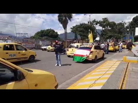 Taxis de Ibagué entrarían a la era digital