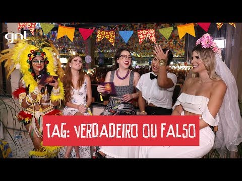 Verdadeiro ou Falso | Evelyn Regly, Mari Maria, Pathy dos Reis e Dupla Carioca | São João da Thay