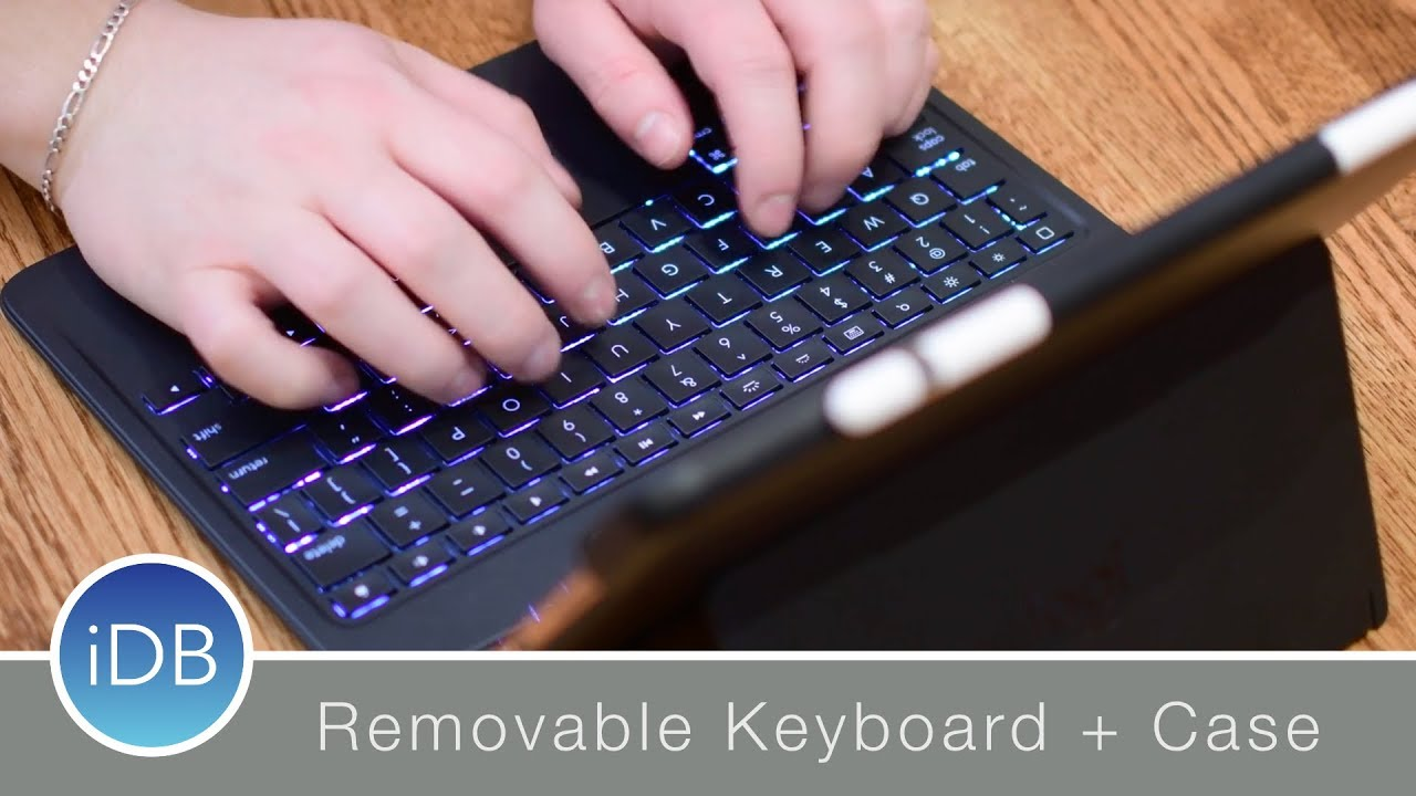 ea0bafb9b0c Logitech Slim Combo Keyboard Case with Smart Connector - Review ...