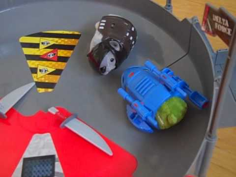 Kung Zhu Pets Fight!  Battle Hamsters in Action -- Video How-To (Ninja vs. Special Forces) Travel Video
