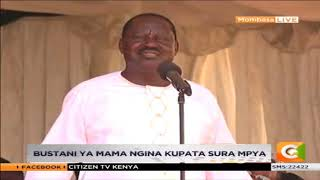 Raila Odinga's speech in Mombasa during his tour with Pres. Kenyatta