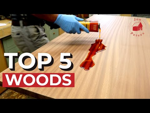 Top 5 Woods I Use
