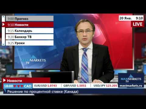 20.01.16 (09:00 MSK) - Новости форекс MaхiMarkets.