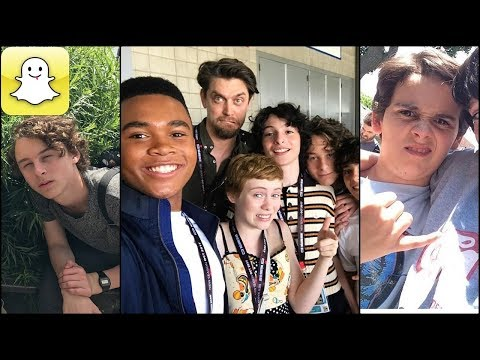 IT Movie Cast - Snapchat Video Compilation (Best 2017★) thumbnail