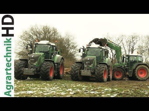 Lohnunternehmen KUMM AGRAR | Fendt Traktoren | Imagevideo | AgrartechnikHD
