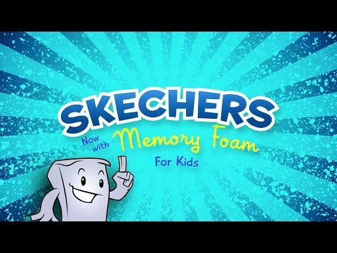 Skechers Kids with Memory Foam commercial