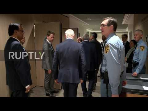 Switzerland: De Mistura greets HNC delegation for another session of Syria peace talks
