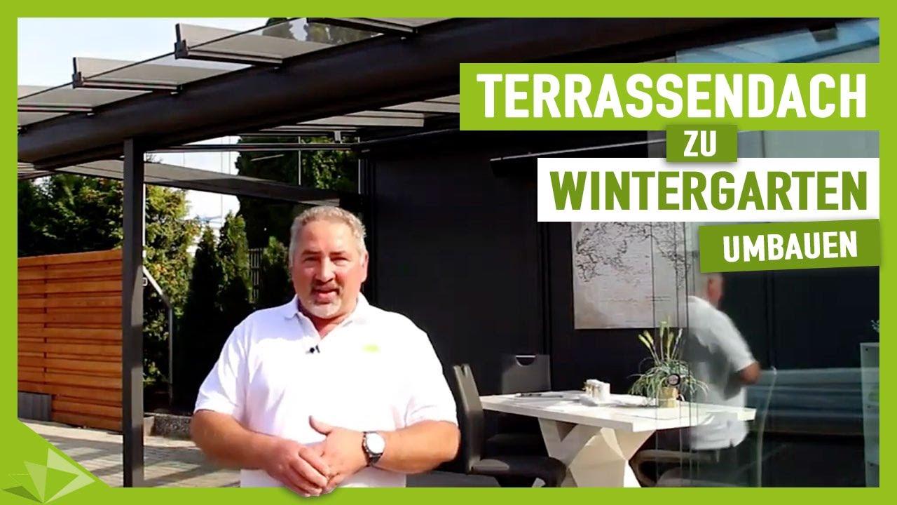 Terrassenuberdachung Zum Wintergarten Erweitern Ambitop Terrassendach