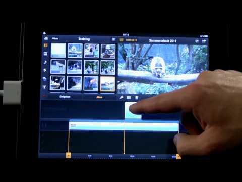 04 Avid Studio iPad Schneiden und Trimmen von Videoclips