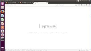 Laravel development setup on Ubuntu Linux using Xampp