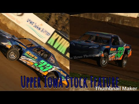 Upper Iowa Speedway Stock Car Feature