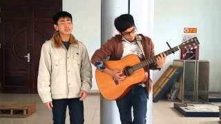 Vẽ - Tiến vs Ngọc Tú guitar :D