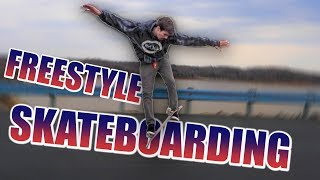 TRYING TO LEARN FREESTYLE SKATEBOARDING