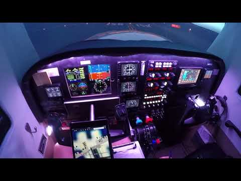 First Person View KSBA to KSBP on PilotEdge (X-Plane Home Cockpit)