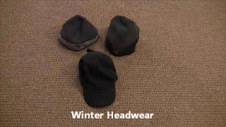 Winter Headwear - Winter Clothing Mini Series