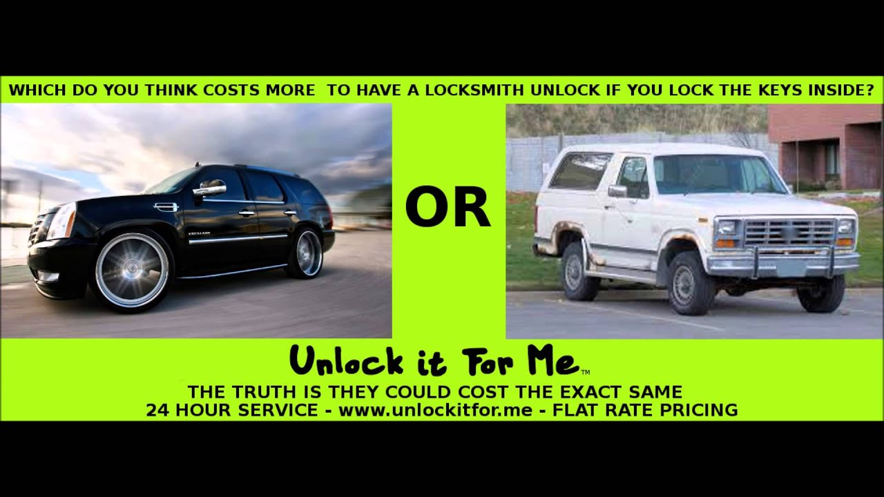How much should you pay a locksmith?