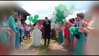 Свадебный клип Александра и Кристины 2013г