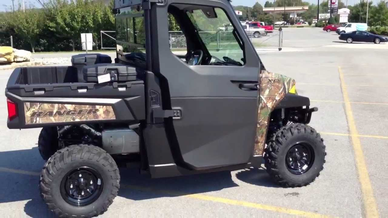 2013 Polaris Ranger Xp 900 With Power Windows And Pro Fit