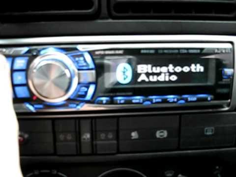 Alpine CDA-9886R WITH KCE-300BT Bluetooth BT moduł - YouTube