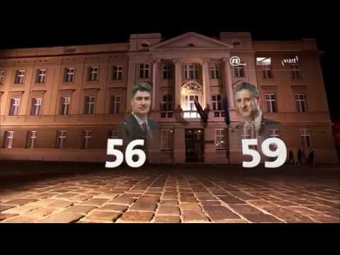 Election night on NovaTV delivered with immersive 3D graphics and Stype