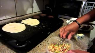 Como Preparar Una Quesadilla Burger