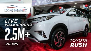 Toyota Rush Launch, Price & Specs - Live Walkaround