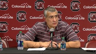 POST-GAME: Frank Martin on Florida — 1/18/17