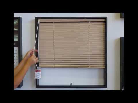 Aluminium Venetian Blind Chain Drive System Demo