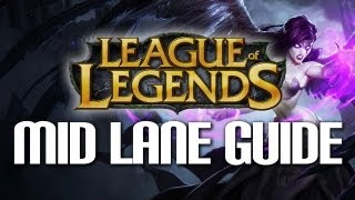 league of legends beginners guide to mid lane
