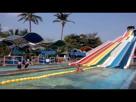 Siam Water park (World's largest wave pool/Speed Slide), Siam Park City, Thailand