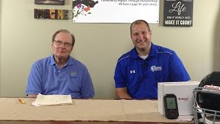 Tom Legath talks about state-of-the-art Riddell SpeedFlex Helmets and their benefits.